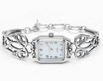 """Spoon Watch: """"Claire"""" by Silver Spoon Jewelry"""