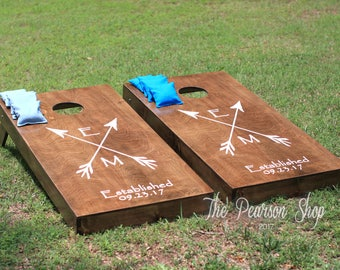 Arrows Design Cornhole Set