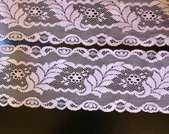 Two Short Lengths of Lace