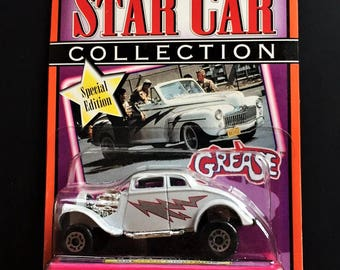 Matchbox 1997 Special  Edition Grease TV & Movie 1:64 Scale Greased Lightning Toy Vehicle Star Car Collection Series 1 NOC