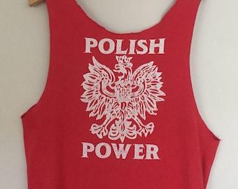 Vintage Polish Power Tank Top