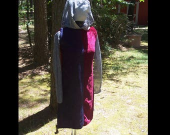 Medieval Chainmail Shirt and Surcoat - AS IS - Guild Tabard - Knight Armor Historical Costume Cosplay - Halloween - Joan of Arc - Holy Grail