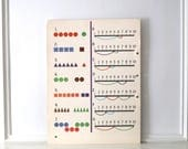 1962 Vintage Arithmetic School Poster 18 x 24 3/4 inches