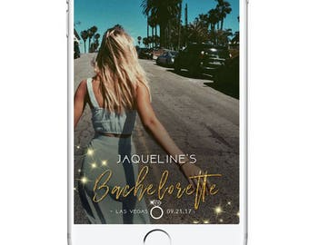 Bachelorette Party Geofilter Snapchat Filter, Bachelorette Snapchat Filter, Personalised Bachelorette Geofilter, Snapchat Geofilter Glitter
