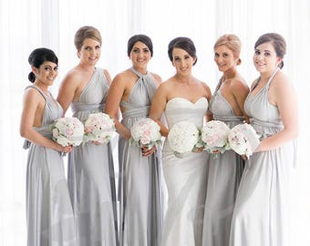 Bridesmaid dresses light colors
