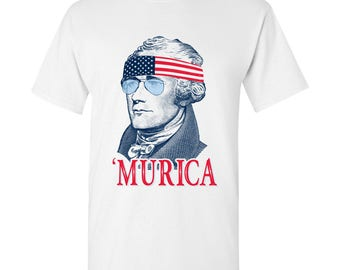 Alexander Hamilton MURICA T-Shirt