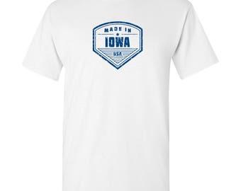 Made in Iowa T Shirt - White