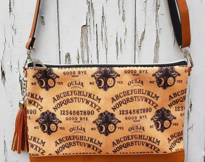 Ouija Board Handbag - Horror Halloween Bag Brown