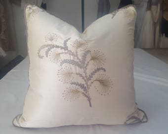 20X20 Silk Handmadefaux silk Pillow