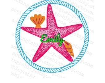 Personalized Star Fish Cruise Door Magnet
