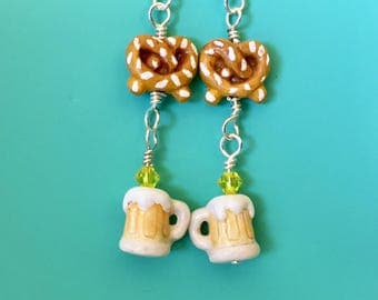 Hefeweizen Oktoberfest Earrings