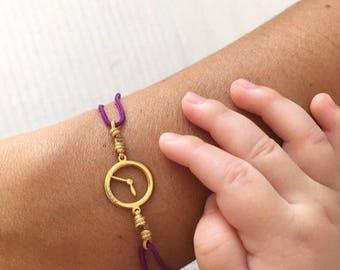 """Pulsera Reloj """"Temps"""""""