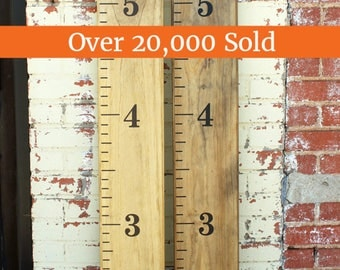 Sale! 30% off - DIY Growth Chart Ruler Vinyl Decal Kit - Traditional style - Large #s