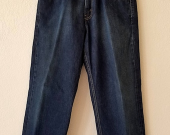 569 Levi Selvedge Denim Jeans 31x30 American Made 80s USA Lot 53