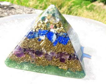 Orgonite® Orgone Pyramid (Small) - Boost Immune System - FREE WORLDWIDE SHIPPING!