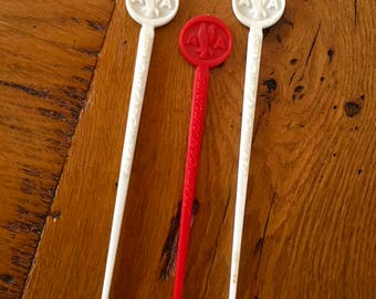 Vintage American Airlines Swizzle Sticks/ 3 Vintage American Airlines Swizzle Sticks/ American Airlines Collectibles/