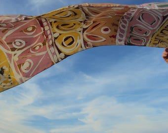 Scarf-silk Batik scarf