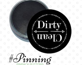 Clean or Dirty Dishwasher Magnet - Dishwasher Sign - Housewarming Gift - Kitchen Decor