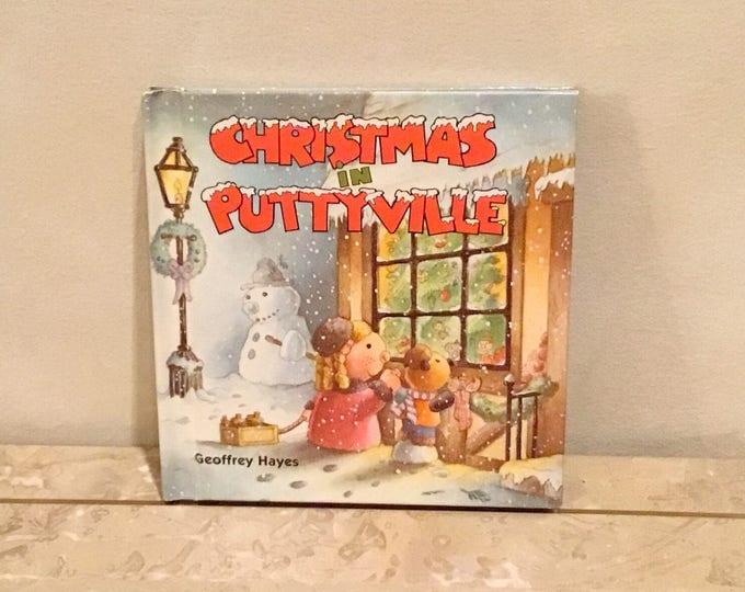 1985 CHRISTMAS IN PUTTYVILLE Children's Book