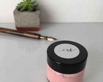 Calligraphy ink - Blush Beauty - gouache based ink for modern calligraphy