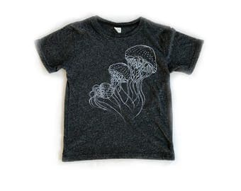 Jellies Youth T-Shirt-Crew neck-Royal Apparel Eco Tri Blend Tee-Organic cotton, recycled poly and rayon.