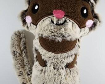 Ferret Plush - Stuffed Ferret - Ferret Softie - Ready to Ship