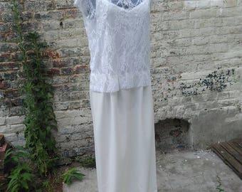 Top lace wedding dress