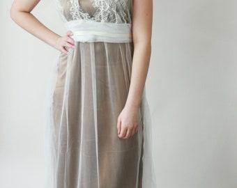 "SAMPLE SaLE - Wedding dress ""Luise"", Size M"