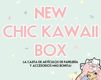 Chic Kawaii surprise box! With 7 super lovely items inside!