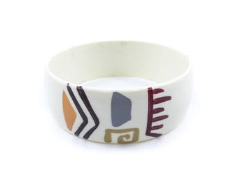 Vintage Tribal Bangle, Made in Taiwan, T8