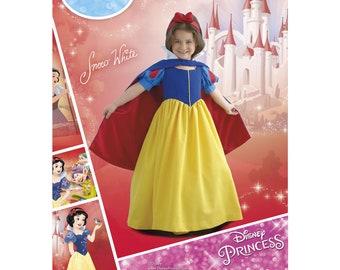 8487, Simplicity Disney Snow White, Costume for Child, Disney Princess, Gown, Disney Princess, Gown, Dress Up, Seven Dwarfs, Cosplay