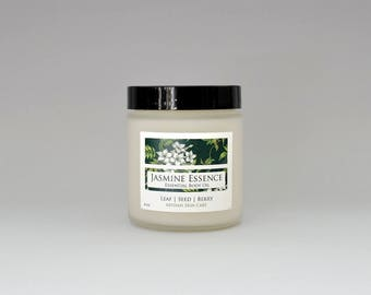 Jasmine Essence Body Oil, Jasmine Body Butter, All Natural with Jasmine Essential Oil, Coconut Oil, Body, Natural Lotion, Moisturizer