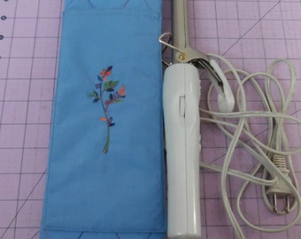 Insulated Curling Iron Case,  Hot Iron Case, Flat Iron Case, Travel Case, Knitting Needle Case, Craft Case