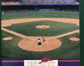 1990 Detroit Tigers Official program