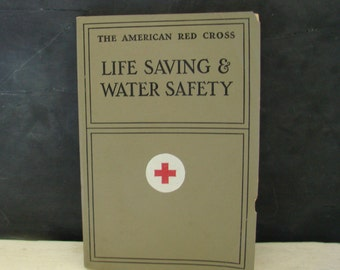 Vintage American Red Cross Life Saving & Water Safety 1937 Black and White Photographs
