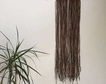 Shadow Layer Frond  010 Wool Wall Hanging