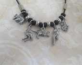 Australian animals charm necklace  CCS68