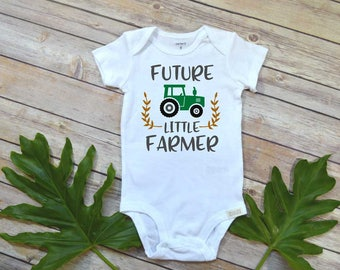 Pregnancy Announcement, Future Little Farmer, Baby Shower Gift, Country Baby shirt, Baby Reveal, Pregnancy Reveal, Baby Announcement, Farm