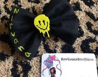 Nirvana Hair bow Or Bowtie