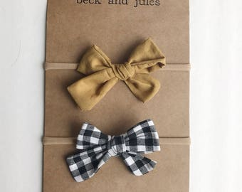 Baby/Girls set of Bows