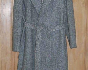 REDUCED - Vintage Montello Mackintosh Wool Coat