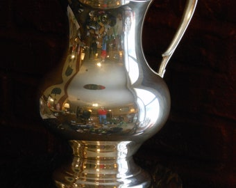 Vintage Taunton Silver Plate Lipped Pitcher