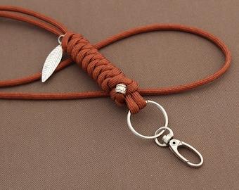 Snake Knot Paracord Lanyard