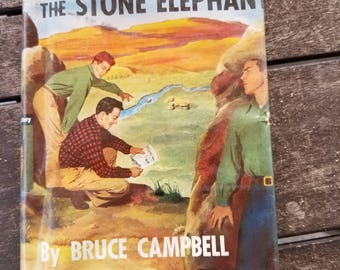 Vintage Book The Riddle of the Elephant Stone