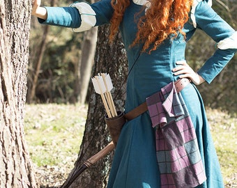 Princess Merida from Brave Costume/Cosplay for Adult or Child