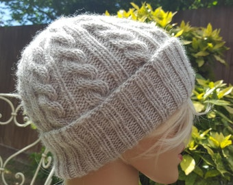 High quality Wool knitted beanie hat sizes M L XL, choose your color