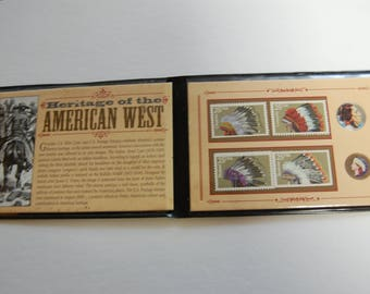 American West Penny/Nickel and Stamp Lot--Unusual