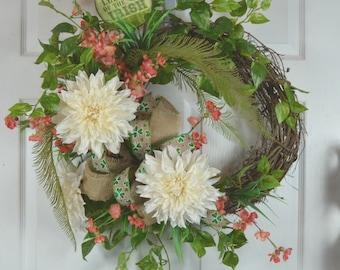 Luck of the Irish - St Patrick's Day Wreath - St Patrick's Wreath - St Paddy's Day Wreath - St Patty's Day Wreath - St Patrick's Decorations