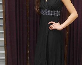 Fully lined cotton empire dress movida