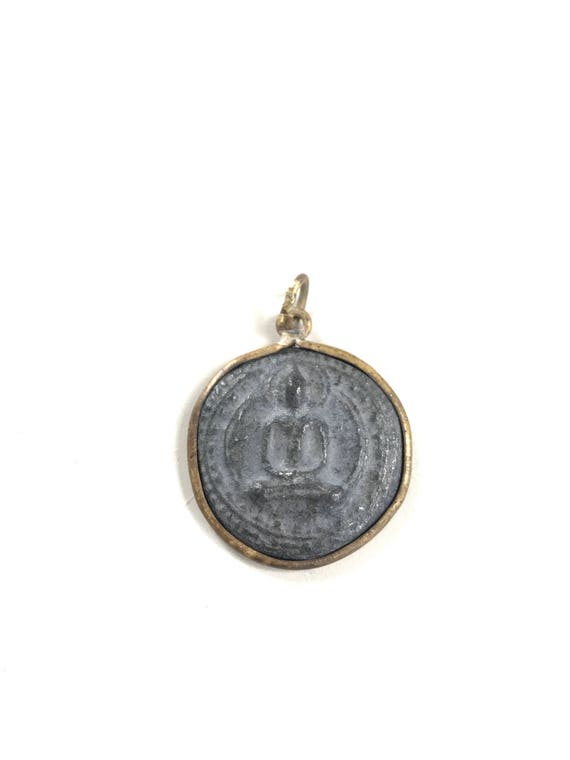 Buddha Pendant, Add This Pendant To Your Mala To Replace The Tassel